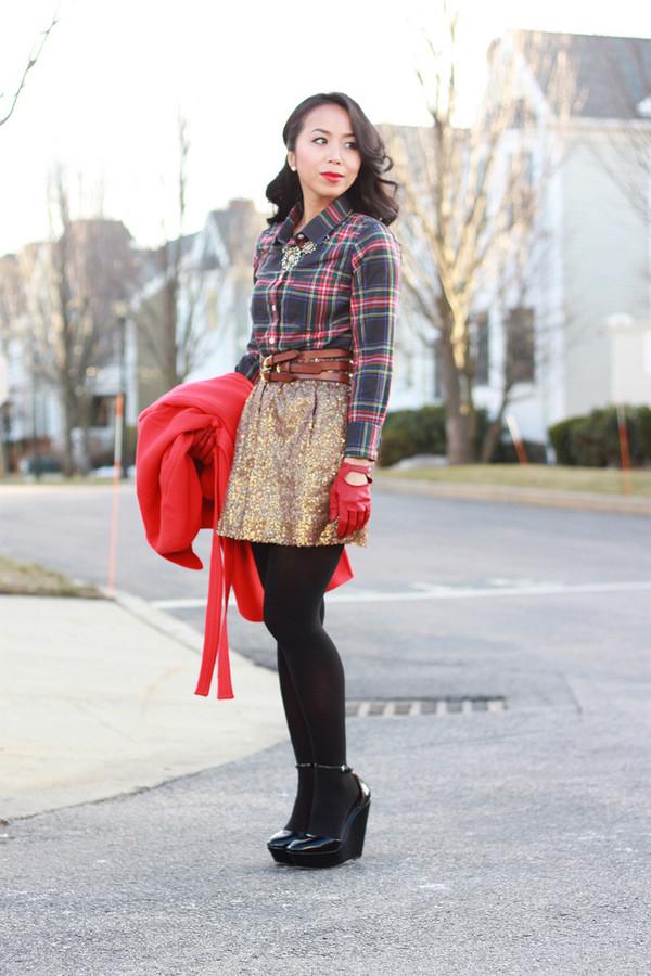 i am khatu t-shirt skirt belt jacket shoes jewels