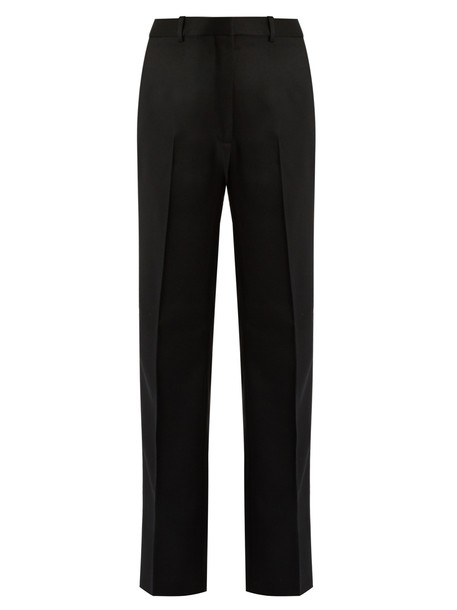 Hillier Bartley silk wool black pants