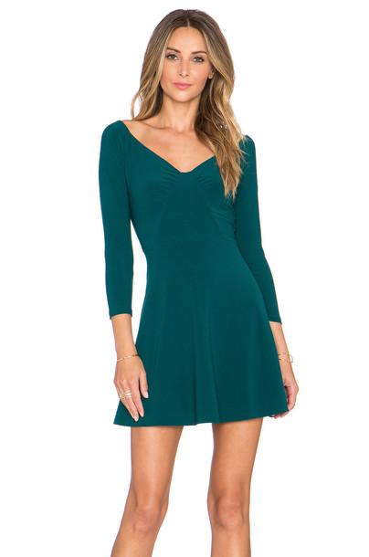 dress cold green