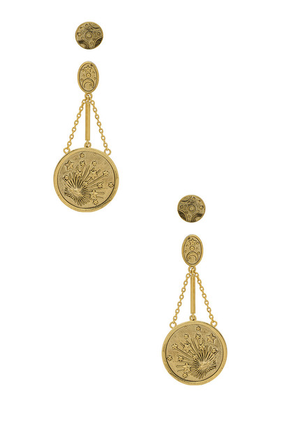 Wanderlust + Co Out Of This World Earrings in gold / metallic