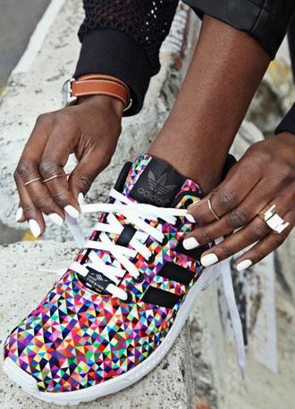 shoes adidas multicolor multicolor sneakers low top sneakers