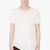 d.gnak by kang.d white knit assymetric hem t_shirt