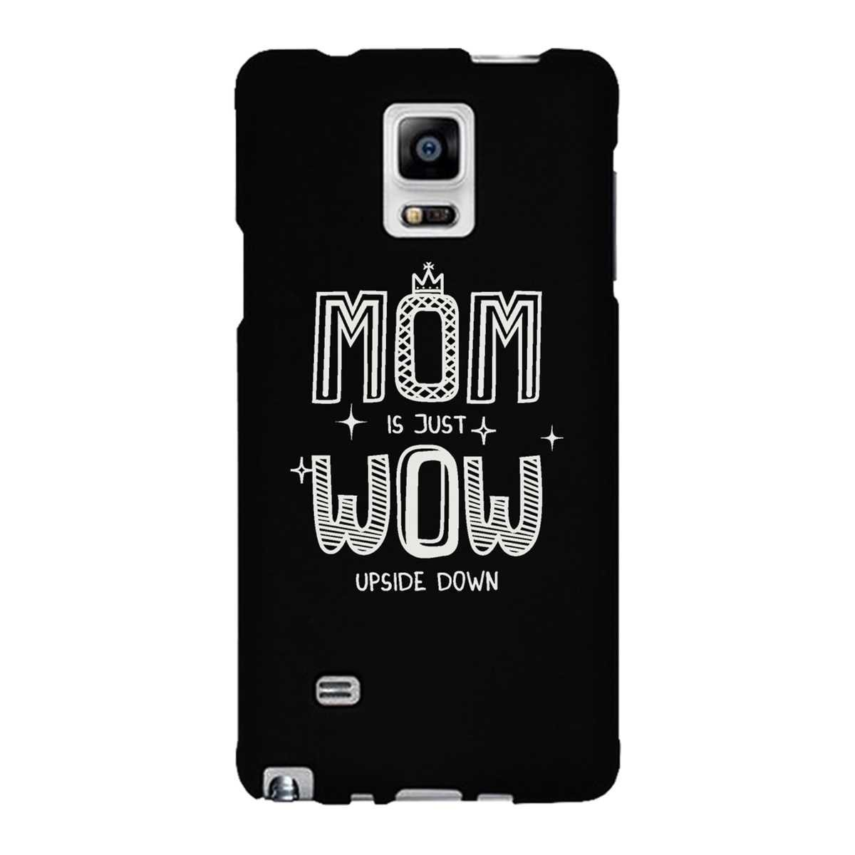 iPhone personalized cell phone cases for iphone 4 : com: MOM Is Just WOW Upside Down - Cute Phone Case for Mom - iphone 4 ...
