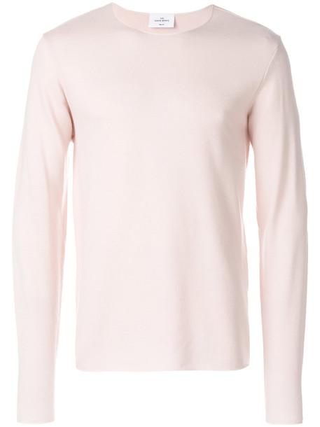 The White Briefs sweater women wool purple pink