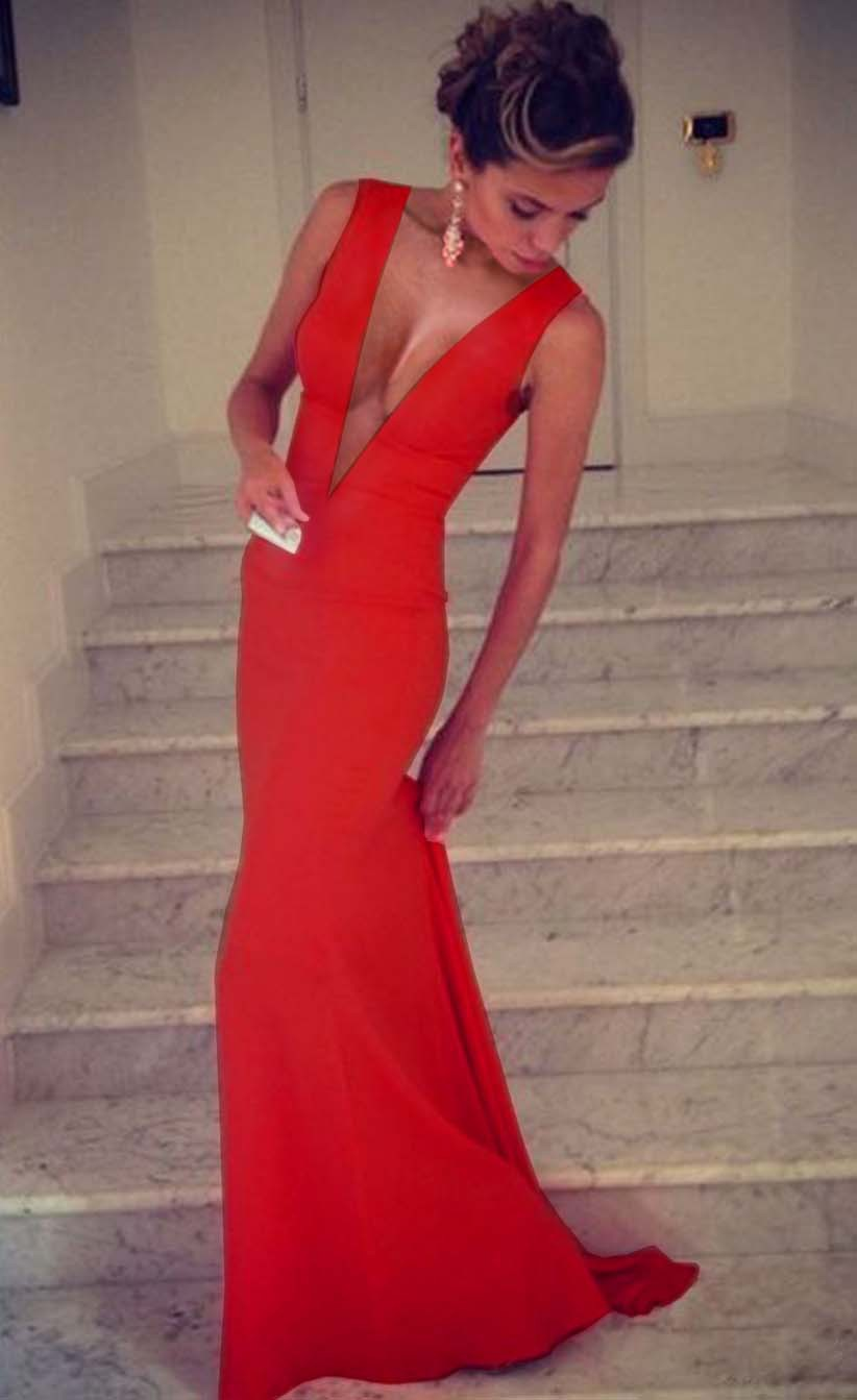 Aliexpress.com : Buy Women Mermaid Evening Dress Red Carpet Dress ...