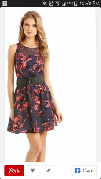 floaral dress lydia martin teen wolf cute dress sleaves sleeve-less