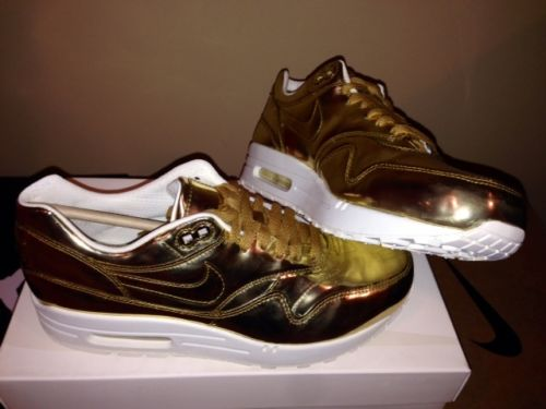 Nike Women's Air Max 1 SP Liquid Gold Metal Pack on Hand Ready to SHIP New DS | eBay
