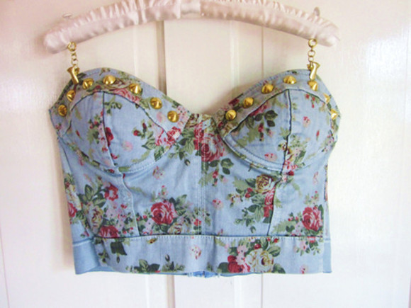 tank top crop tops floral tank top