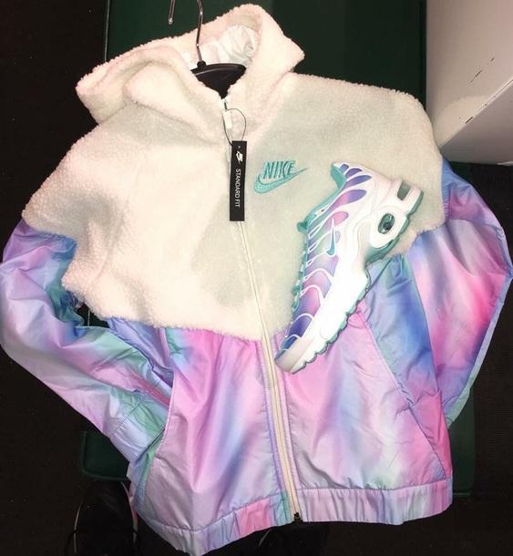 colorful nike hoodie