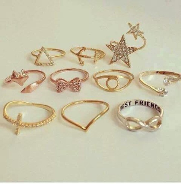 jewels bff stars bows