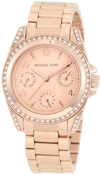 Michael Kors MK5613 Blair Glitz Women's 33MM Rose Gold Watch