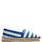 Bazar striped raffia-effect espadrilles