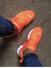 shoes,nike,orange,presto
