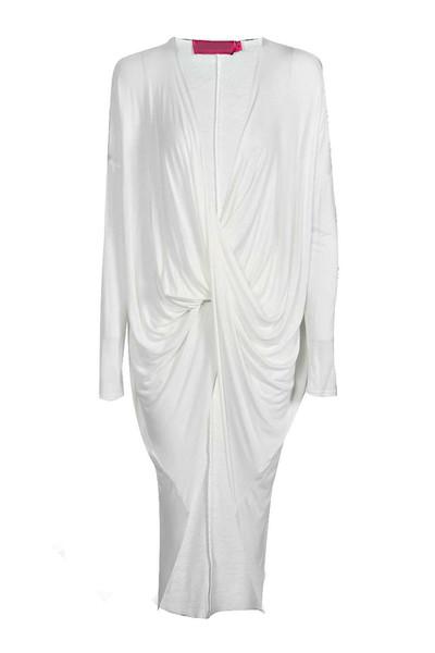 Cheryl longline drape top