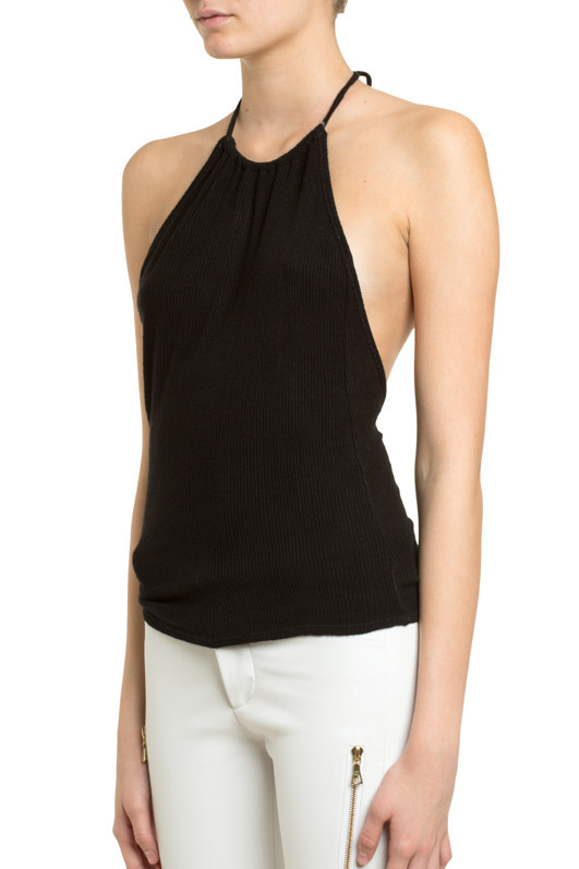 Esia Halter Knit Top - MLLE Mademoiselle