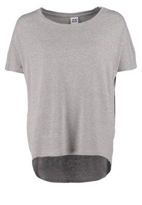 Vero Moda PARIS - T-Shirt basic - light grey melange - Zalando.de