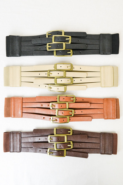 Four Buckles Belt | Pretty & Chic Boutique