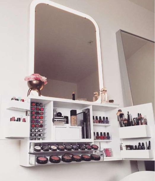 make-up makeup table make up vanity white ma