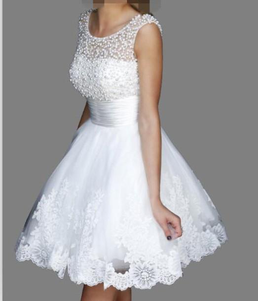 Dress Homecoming Dress 2015 Lace Applique Lace Dress