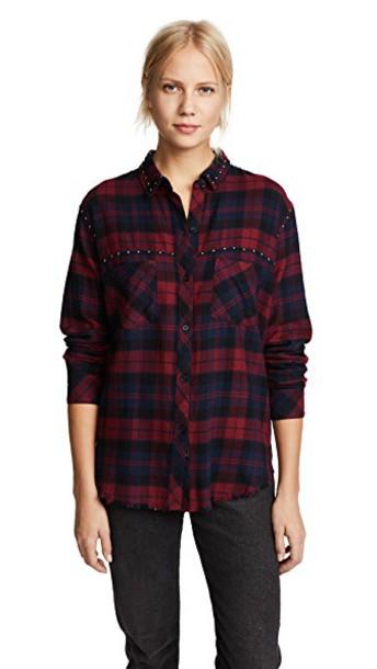 Rails shirt navy top