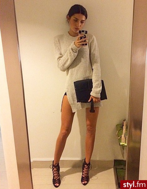 shoes high heels heels lace up lace up pumps streetwear blouse sweater oversized sweater warm classy night outfit dress bag