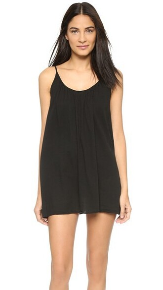 cover up black swimwear