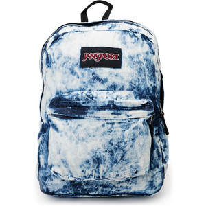 Jansport Denim Daze Acid Blue Backpack - Polyvore