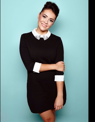 lola saunders x factor collar cuff embellished collar