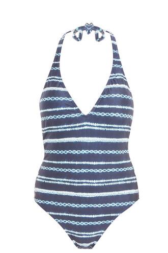 navy swimwear