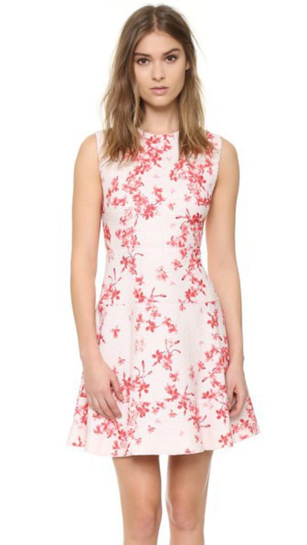 efb38bbb85f Sunny Girl PTY LLTD Lanai Must Be Dreaming Dress in Crimson Floral ...