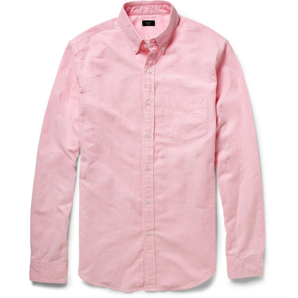 J.Crew Cotton Oxford Shirt - Polyvore