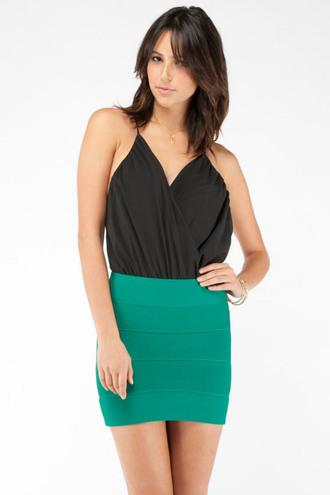 bodysuit top black bodysuit draped bodysuit deep v bodysuit