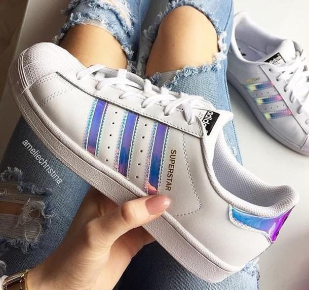 93jkzr l 610x610 shoes holographic shoes adidas adidas shoes adidas