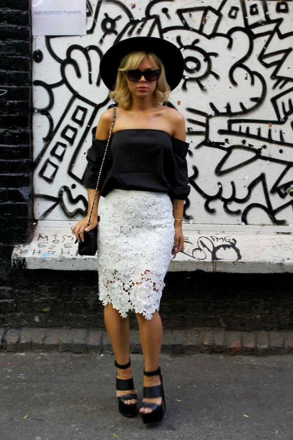 stylista skirt top bag jewels