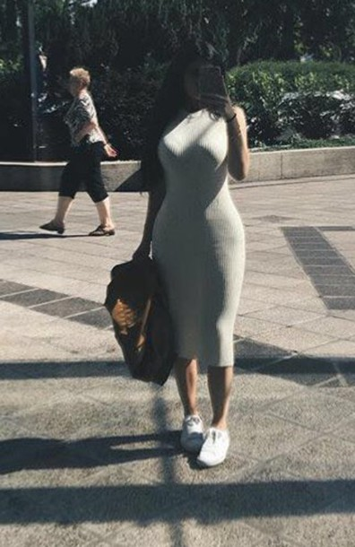 Dress Kardashians Fashion Style Instagram Instastyle Chic Kylie Jenner Instagram Tumblr
