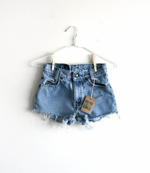 shorts denim high-wasted denim shorts summer hot high waisted short shoes shorts, denim, summer denim shorts cut off shorts