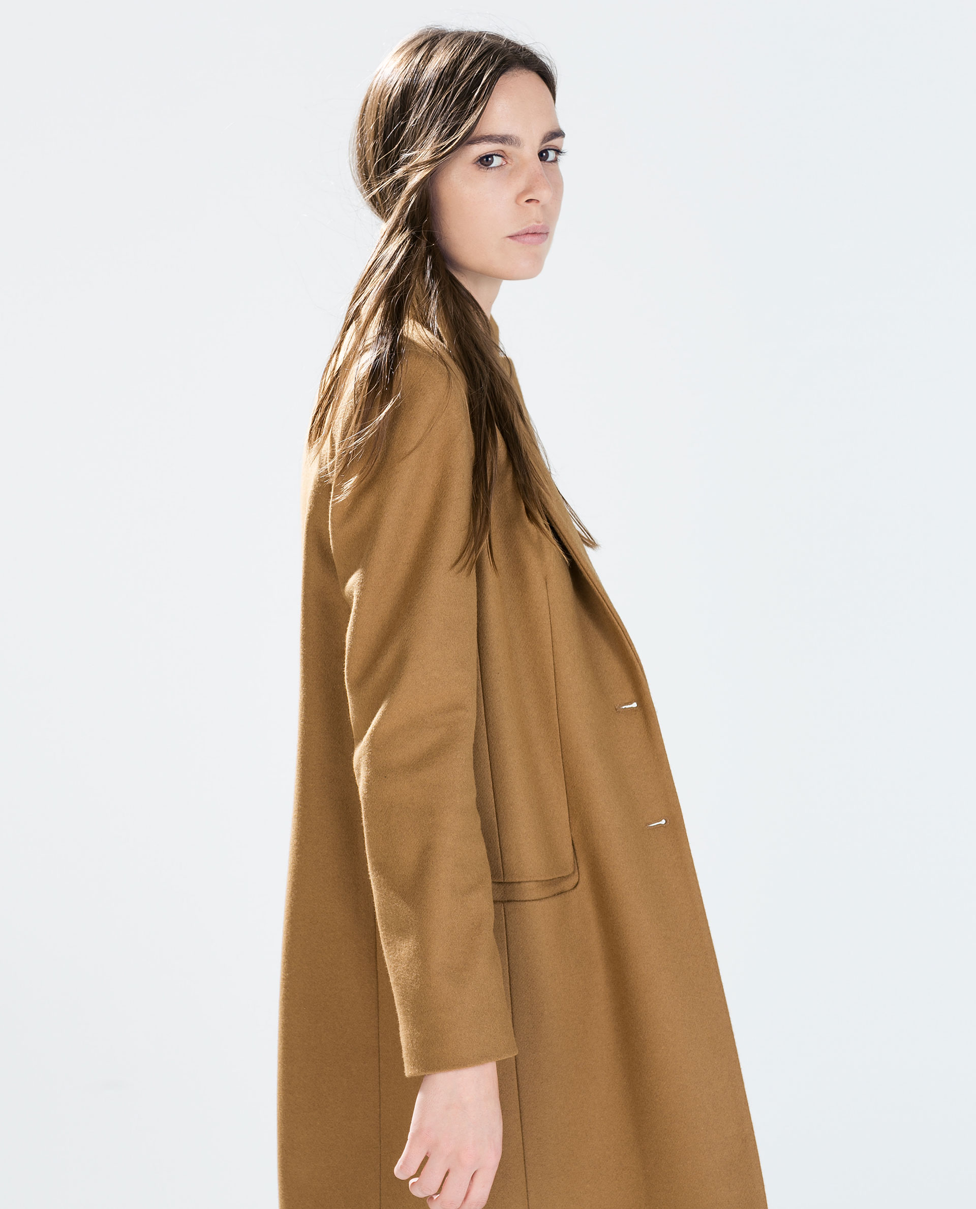 CAMEL COAT - Outerwear - WOMAN - SALE | ZARA United States