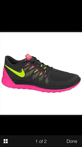 shoes nike free run 5.0 nike black