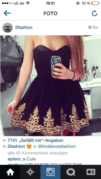 dress prom dress gold little black dress golden dress