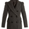 Lea double-breasted wool coat