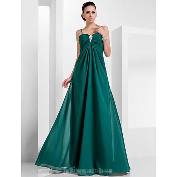 Australia Formal Evening Dress Military Ball Dress Dark Green Plus ...