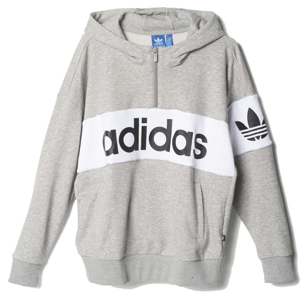 Adidas Original City Tokyo Hoodie Medium Grey Heather
