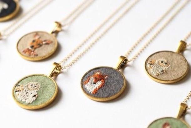 jewels mori girl kawaii necklace