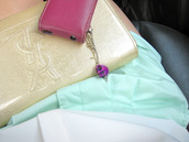 bag,studded,iphone cover,jagger edge,charm