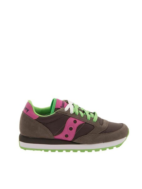 Saucony sneakers pink grey shoes
