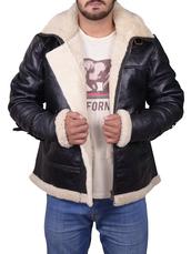 jacket,sheepskin leather jacket,shearling leather jacket,b3 bomber jacket,menswear,winter outfits