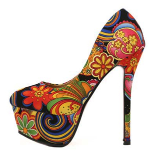 shoes canvas canvas shoes canvas platform shoes high heels floral stilettos stiletto shoes pumps fashion clothes