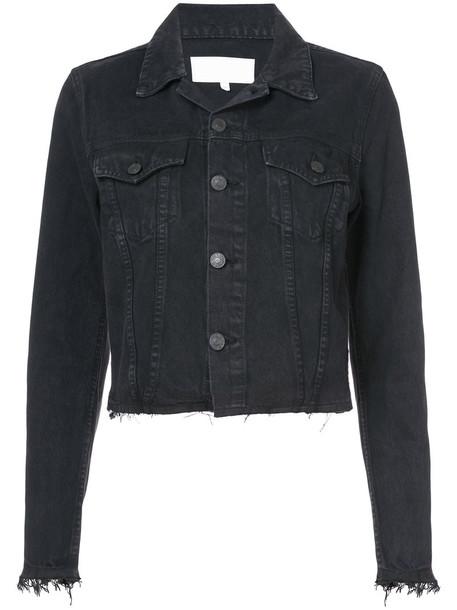 Re/Done jacket denim jacket denim women cotton black