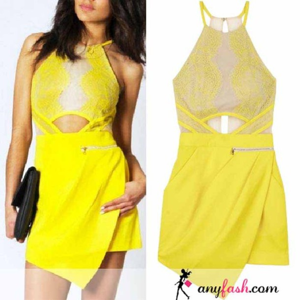 Jumpsuit yellow lace jumpsuits lace romper lace for Three floor yellow dress