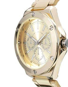 ASOS | ASOS – Boyfriend-Uhr mit Schraubenverzierung bei ASOS